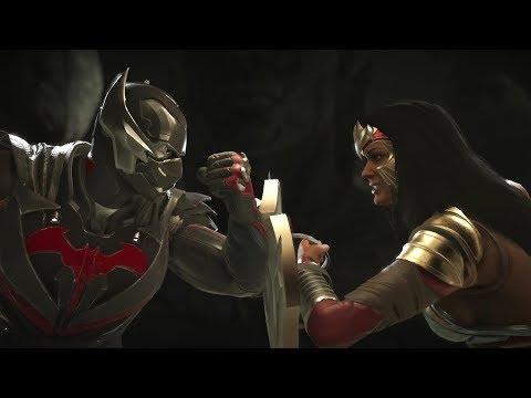Injustice 2 : Batman Vs Wonder Woman - All Intro/Outros, Clash Dialogues, Super Moves
