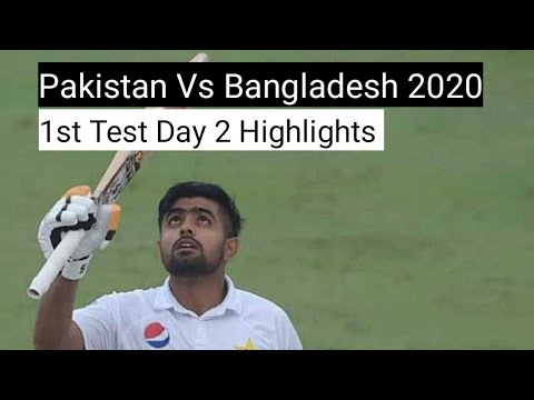 Pakistan vs Bangladesh 2020 | Highlights Day 1 | 1st Test Ma