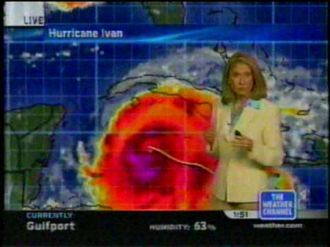 TWC Hurricane Ivan coverage 2004: Clip 1