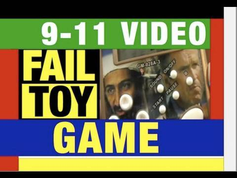 Epic FAIL Video Game? Bin Laden VS USA Failure Toy Review by Mike Mozart of JeepersMedia on YouTube