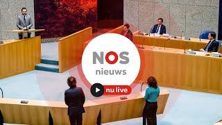 TERUGKIJKEN: Debat over coronamaatregelen Tweede Kamer