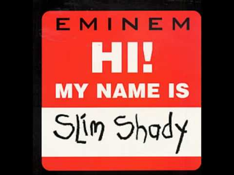 My name is Eminem (Dirty) original