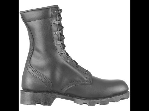 Mil-Tec ARMY black leather boots
