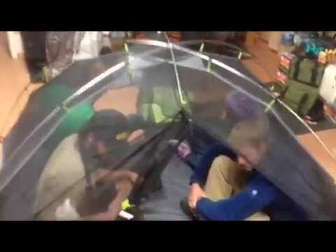 & NEMO Galaxi 2 Person Spacious Camping Tent - YouTube