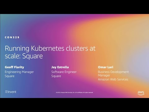 AWS re:Invent 2019: Running Kubernetes clusters at scale: Square (CON329)