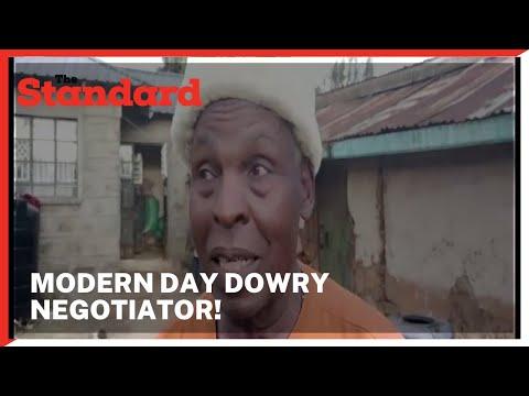 Meet Gatiba wa Njoroge, a man who prides himself as a 'professional' modern-day dowry negotiator