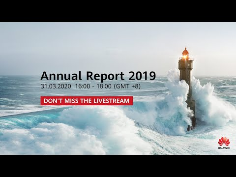 2019 Huawei Annual Report Press Conference