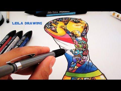 Dessin spécial coupe du monde (Doodle Art) !