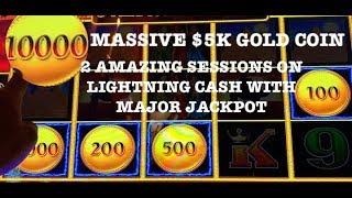 (2) MASSIVE HANDPAYS LIGHTNING LINK WITH 10K CREDIT GOLD COIN ⭐️(2) MAJOR JACKPOTS ⭐️DRAGON LINK ⭐️