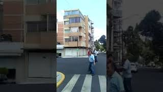 Building Collapse during Mexico City Earthquake