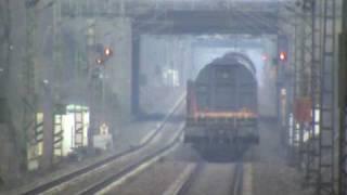 BR185 bei Bonn Villich Müldorf mit gemischtem Güterzug nach Köln 01