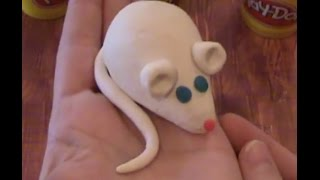 How to Make a Play Doh Mouse Clay Sculpture with Wendy Layne