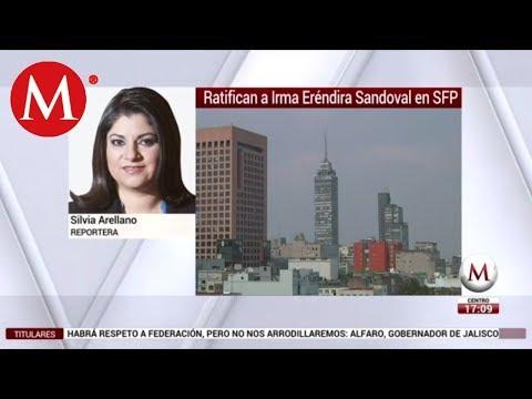Senado ratifica 'fast track' Eréndira Sandoval para SFP