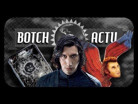BOTCH ACTU #15 - STAR WARS VIII, BLACK MIRROR ET JOHNNY HALLYDAY