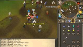 King Jim Z Pk Vid 8 - Maxed Chaotic Pure Pking with All Chaotics 99 Dungeoneering