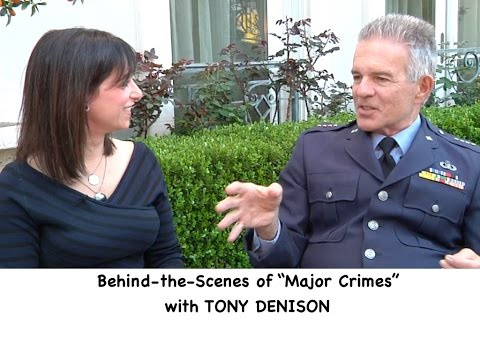 "TONY DENISON (""Major Crimes"") behind-the-scenes on the big surprise episode, his new movie & more"