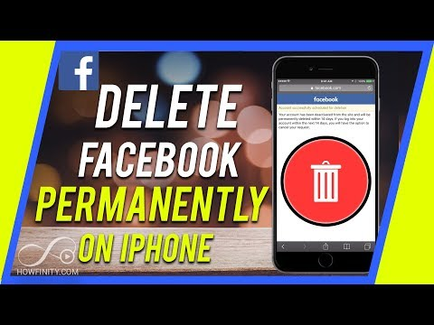 How to delete facebook on iphone 5s