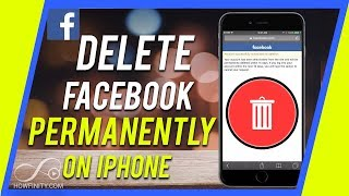 How to Delete your Facebook Account from your iPhone