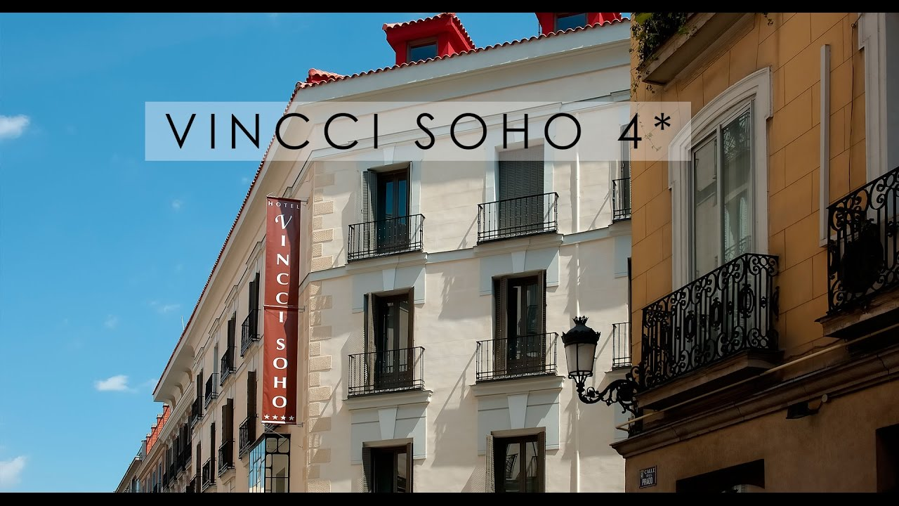 Hotel vincci soho 4 en madrid vincci hoteles youtube for Hoteles vanguardistas en madrid