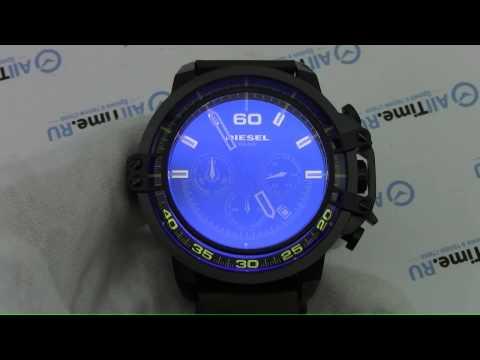 Обзор. Мужские наручные часы Diesel DZ4405 с хронографом