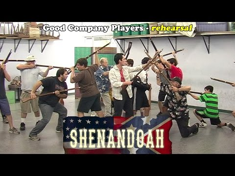 Shenandoah in rehearsal - Good Company Players