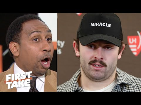 Baker Mayfield has more commercials than wins! - Stephen A. reacts to the Browns' loss | First Take