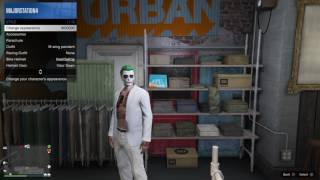 How to make joker from suicide squad in gta 5 online (Lamborghini included! With crew color!)