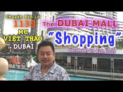 "MC VIỆT THẢO- CBL(1133)-The DUBAI MALL-""SHOPPING""- DUBAI City Day 2 & 3- DECEMBER 19 & 20, 2019."