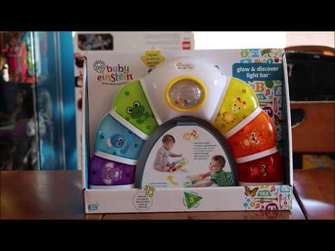 The Reluctant Reviewer and Baby Einstein's Glow and Discover Light Bar
