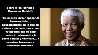 Las 7 frases de Nelson Mandela que EEUU no quiere recordar