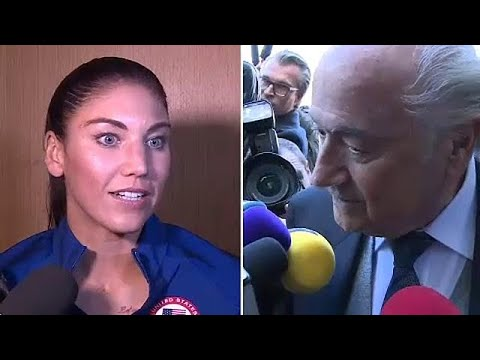 Blatter accused of sexual assault at awards ceremony