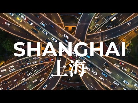 Shanghai Skyline from Above - Flying over China's most Cosmopolitan City | Aerial Drone Tour