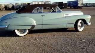 1947 Buick super 8 convertible .FOR SALE.   kitfrandsen@cogeco.ca