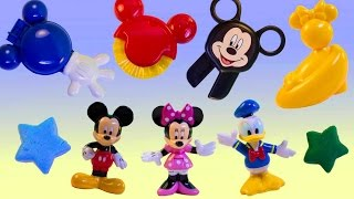 Play Doh Minnie Mouse Play Doh Mickey Mouse Stamp & Cut Set Mickey Mouse Playdough Hasbro Toys