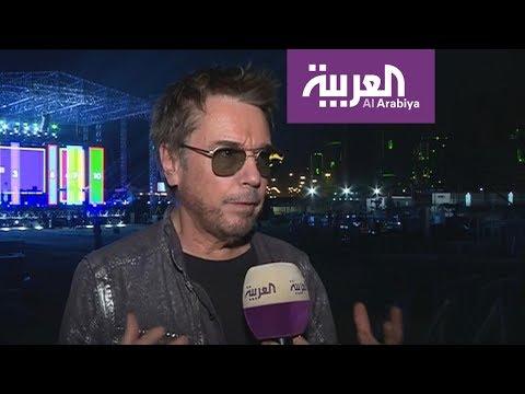 الفنان العالمي جان ميشيل جارر لأول مرة يضئ سماء و أفق الرياض  - 14:53-2018 / 9 / 24