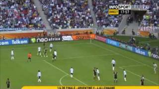 Germany 4-0 Argentina World cup 2010