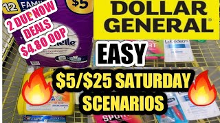 4/8-10/21 DOLLAR GENERAL COUPONING THIS WEEK $5 OFF $25 SATURDAY SCENARIOS 2 DUE NOW DEALS LOW $4.80