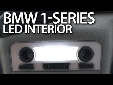 BMW 1-Series LED interior lights (E81 E82 E87 E88 tuning)