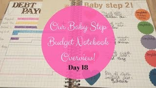 Our Baby Steps & Budget Notebook {25 Days of Budgets, Day 18}