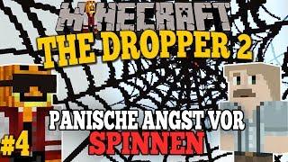 the dropper 2 angst vor spinnen minecraft adventure map 4 facecam german
