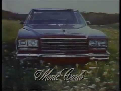 1980 Chevrolet Monte Carlo Commercial