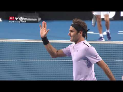 Hopman Cup Perth Doppel Final Benderer vs Angerev