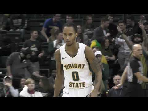 NCAA Men's College Basketball! Wright State University Vs Oakland