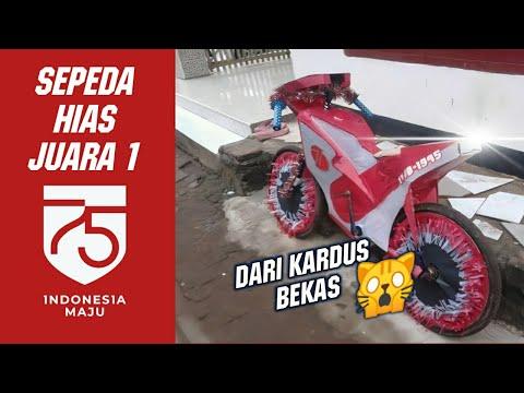 SEPEDA HIAS LOMBA 17 AGUSTUS, UNIK MIRIP MOTOR MOTOGP