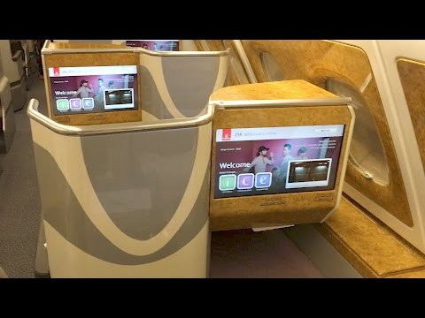 The Complete Emirates A380 Business Class Review | BKK - DXB