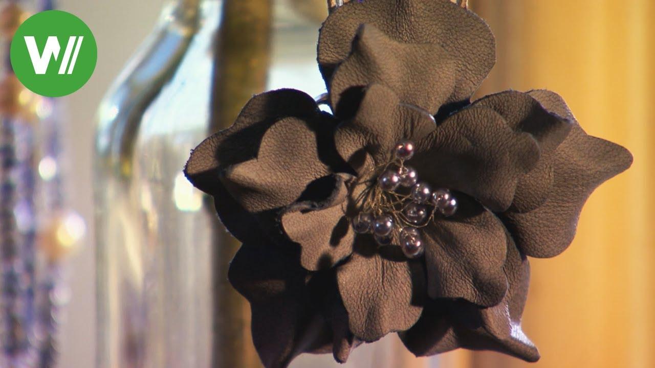 Blumen Aus Leder Schmuck Für Den Sommer