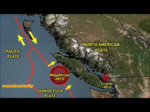 Warning Tectonic Plate Juan de Fuca Greatest Geophysical Hazard to the Continental United States!