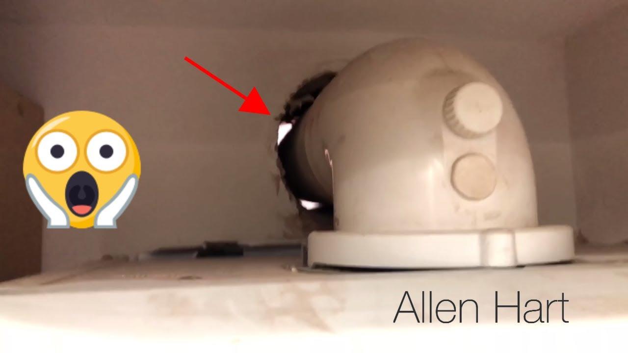 medium resolution of badly installed combi boiler with underfloor heating gas plumber leeds