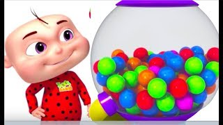 Learn Colors With Ball Machine For Toddlers | Colour Learning Videos For Kids | Colors For Children