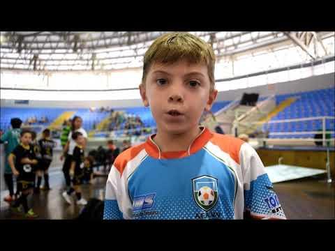 A nova geração participou do Festival do Blumenau Futsal